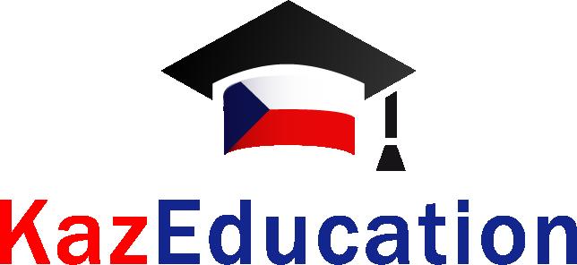 "logo KazEducation - ""KazEducation"" - курсы чешского языка в Казахстане"
